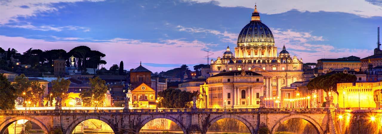 Conhecida como 'Cidade Eterna', Roma é um museu a céu aberto.